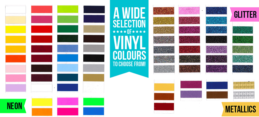 SPECIALTY VINYL colors